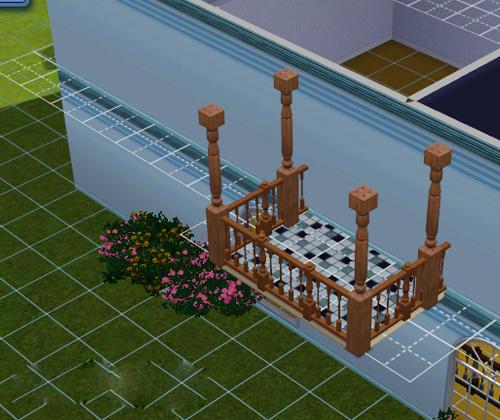 Как в симсе 3 сделать балкон 314