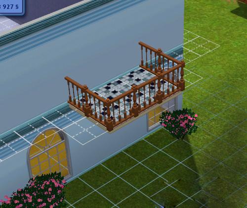 Как в симсе 3 сделать балкон 261